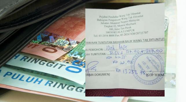 Ini Cara Akak Ni Dapat Duit RM14,000 'Wang Tak Dituntut'. Ramai Masih Belum Tahu Caranya 2