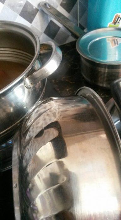 cara kilatkan periuk, cara basuh bontot periuk, cara kilatkan bontot periuk, cara bersihkan kuali, kilatkan kuali, kilatkan periuk, petua kilatkan kuali periuk