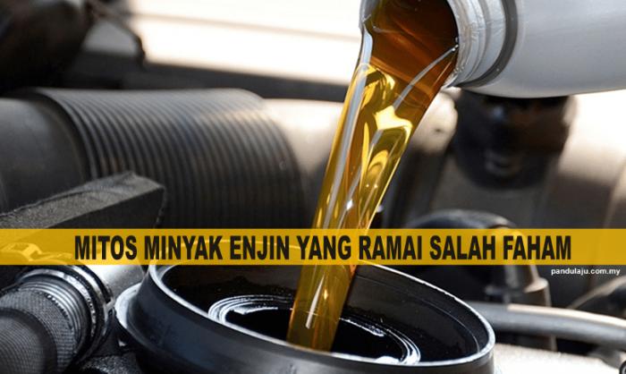 tukar minyak enjin, tukar minyak hitam