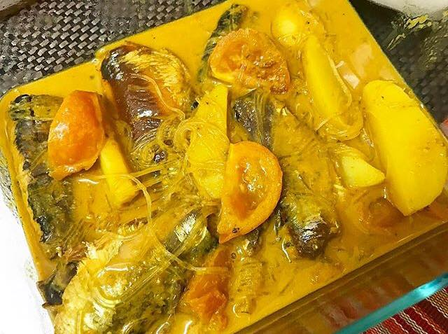 resepi sardin tin, sardin tin masak lemak cili padi, masak lemak cili padi, sardin tin