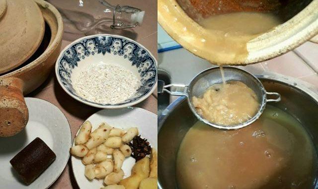 petua air kencur, jamu beras kencur, petua kencur, manfaat air kencur, manfaat kencur, khasiat air kencur, petua beras air kencur