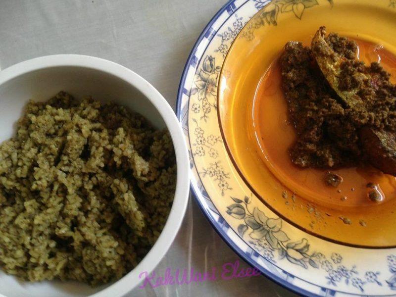 nasi lemuni, resepi tamat pantang, resepi berpantang, resepi orang pantang, masakan orang pantang, makanan orang pantang