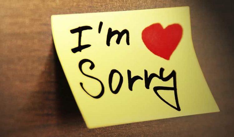 ucapan maaf, suami minta maaf, minta maaf, minta maaf pada isteri, minta maaf pada pasangan