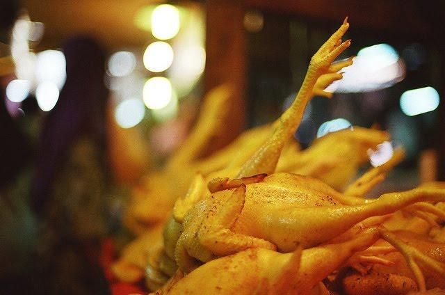 melembutkan daging ayam 1