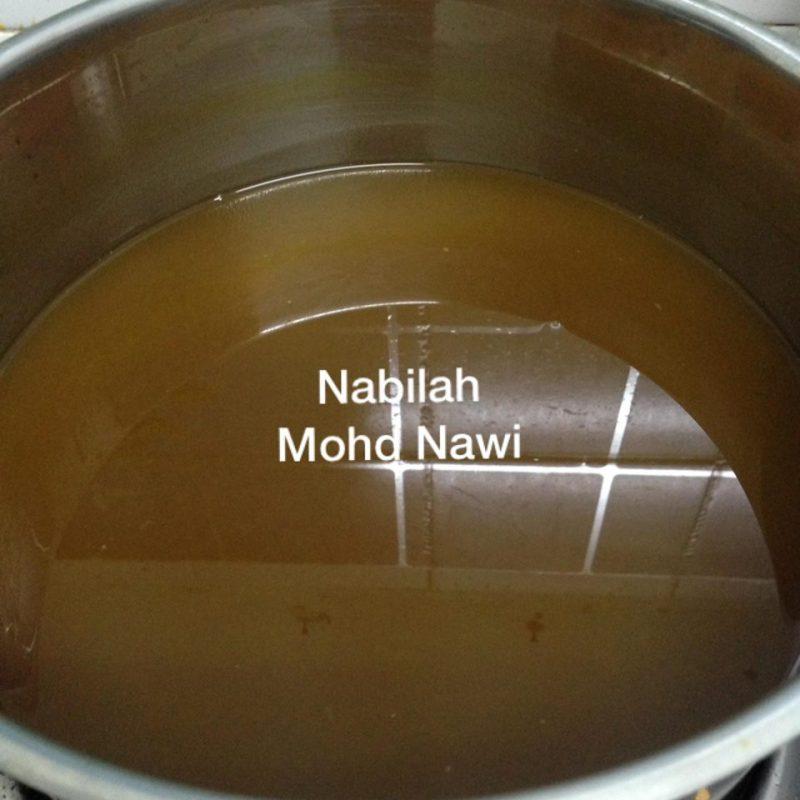 jus asam jawa, jus herba, jus kurangkan keputihan, jus air asam kunyit, air asam kunyit