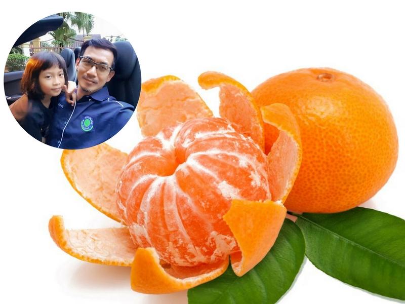 cara makan limau mandarin, limau mandarin, khasiat limau mandarin, cara betul makan limau mandarin, limau mandarin Tahun Baru Cina