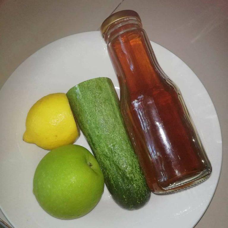 jus sihat, minuman kecantikan, minuman kesihatan, minuman untuk kenyang lebih lama, minuman untuk awet muda, khasiat timun, khasiat lemon, khasiat epal