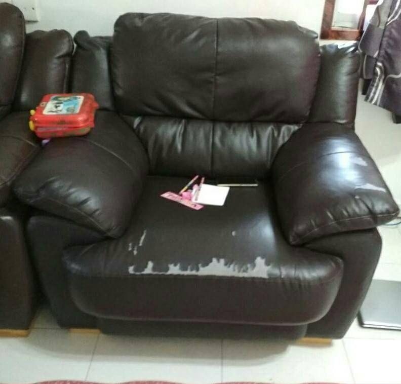 cara jaga sofa kulit, sofa kulit tahan lama, sofa kulit, penjagaan sofa kulit, set sofa kulit, sofa kulit original