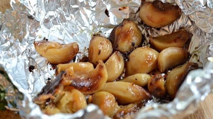 khasiat bawang panggang, khasiat bawang bakar, manfaat bawang putih, khasiat bawang putih, kelebihan bawang putih, bawang putih bakar, bawang putih panggang