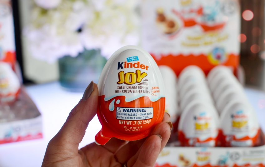kinder joy haram, bahaya coklat kinder joy, bahaya mainan kinder joy, kinder joy mahal, telur kinder joy
