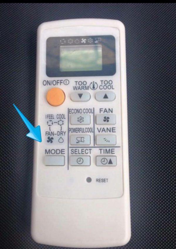 Cara Mudah Bersihkan Aircond, Hanya Guna Remote Sahaja 3