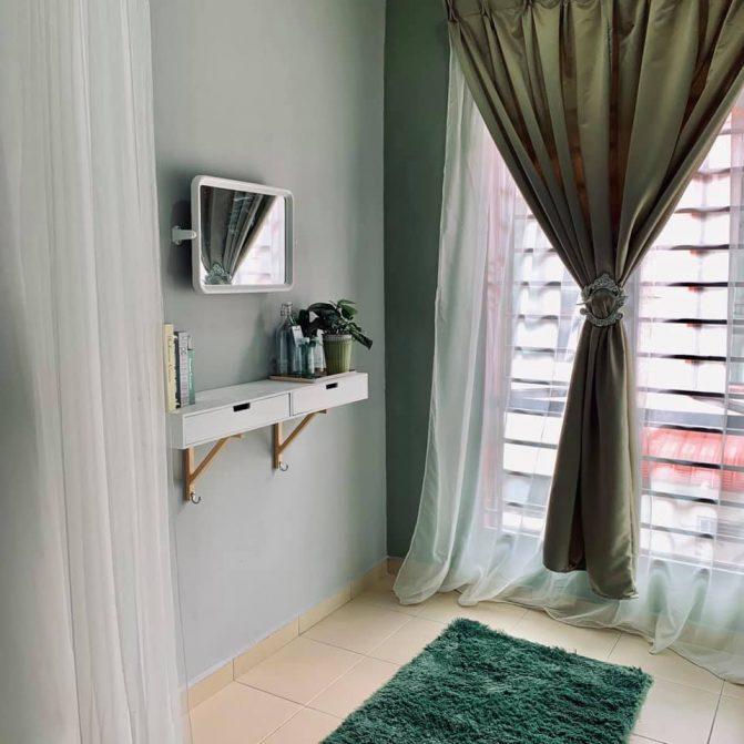 Dekorasi Bilik Tidur Dengan Bajet RM600, Dalam Masa 2 Hari Je Siap. Jom Tiruvasi Idea Ni 13