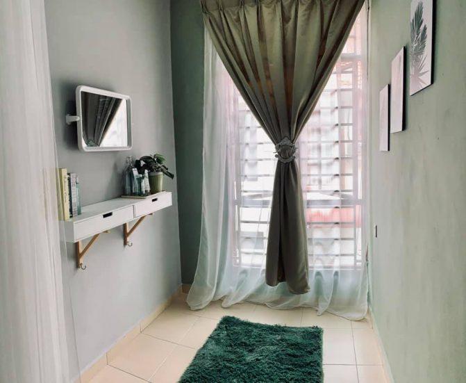 Dekorasi Bilik Tidur Dengan Bajet RM600, Dalam Masa 2 Hari Je Siap. Jom Tiruvasi Idea Ni 8