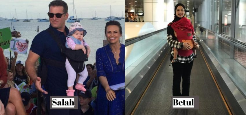 Ramai Ibu Bapa Salah Guna Baby Carrier, Wanita Ini Ajar Cara Yang Selamat 2