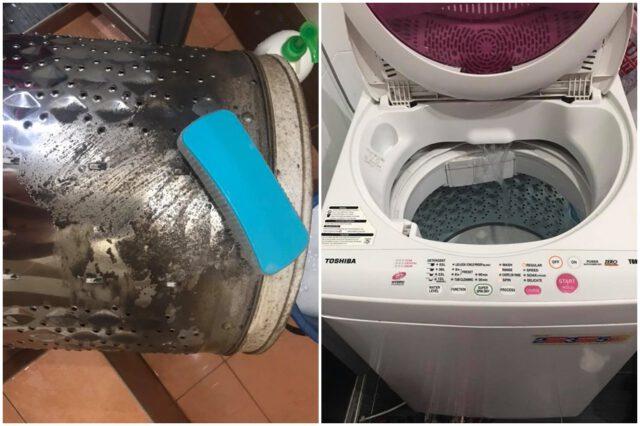 cuci drum mesin basuh