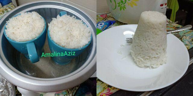 masak nasi sikit