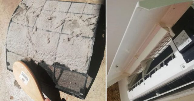 Kalau Aircond Rumah Dah Kurang Sejuk, Tanda Filter Penuh Habuk! Ikut Langkah Ini Untuk Bersihkannya.
