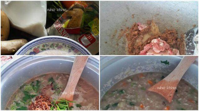 Cara Buat Bubur Lambuk Guna Rice Cooker. Cukup Mudah, Cepat & Sedap Pula Tu!