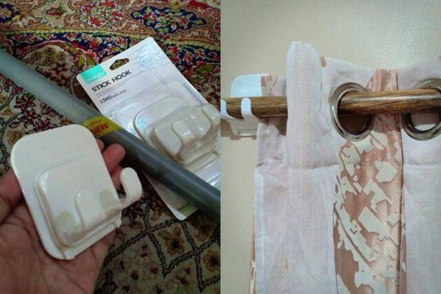 Buat Batang Langsir DIY Semudah ABC, Bajet Hanya RM5 Jer. Simple, Jimat & Senang Nak Pasang!