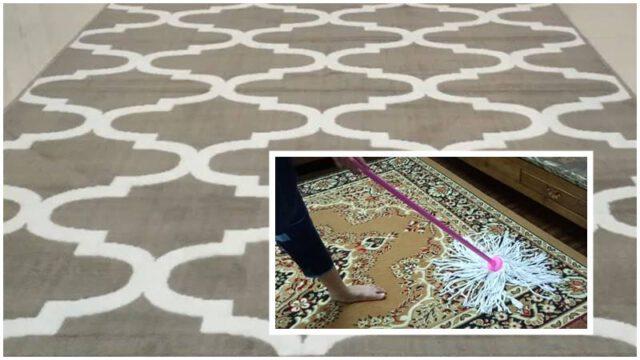 Tip Bersihkan Karpet Guna Bahan Di Dapur, Hasilnya Macam Karpet Baru!