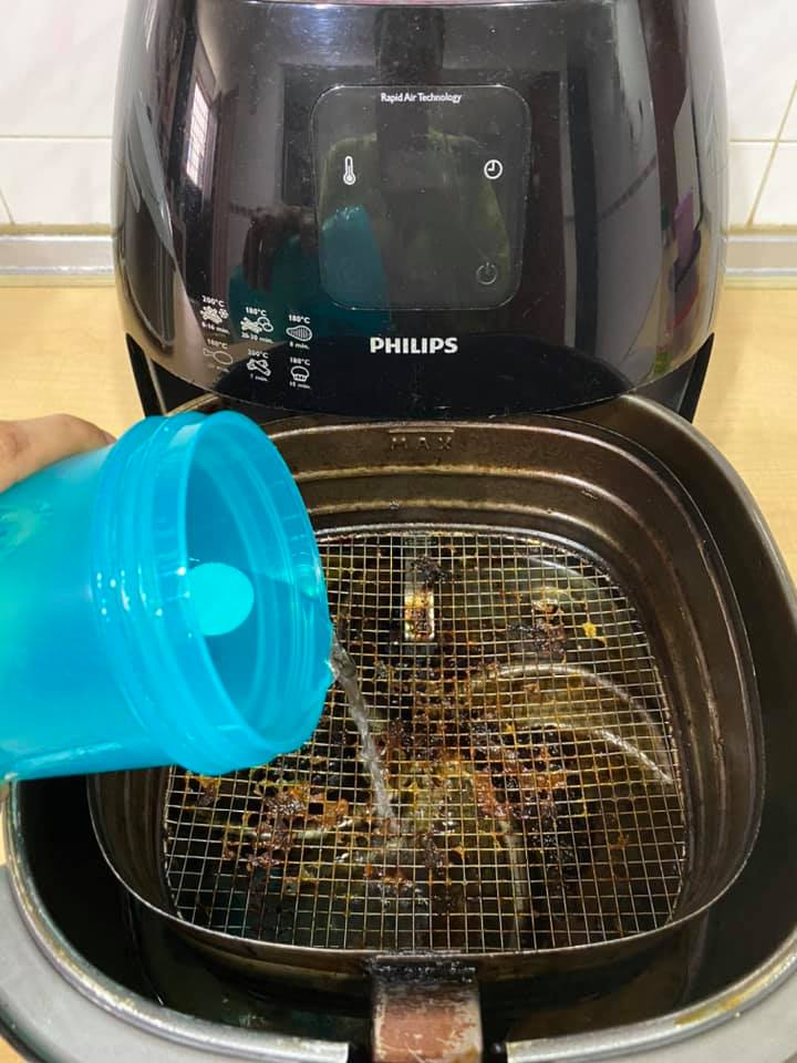 cuci air fryer