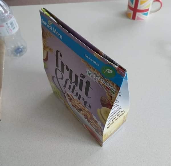 kotak bungkusan bijirin