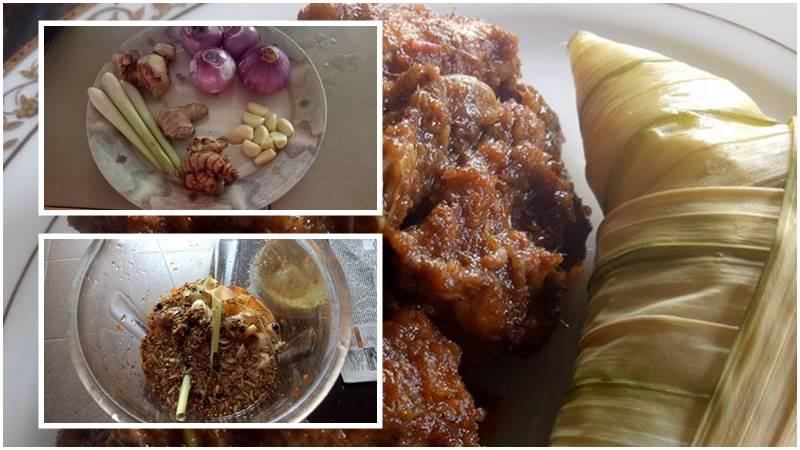 resepi rendang ayam simple pijat spa Resepi Ayam Pencen Enak dan Mudah