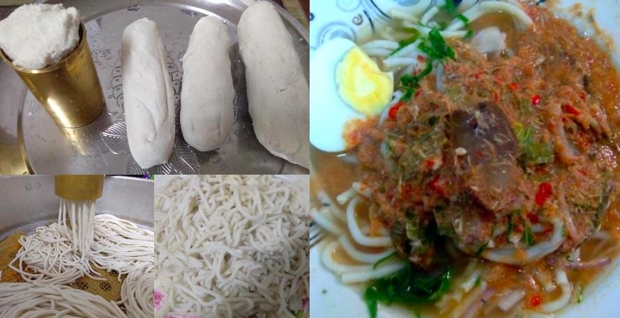 inilah  buat laksa beras homemade mudah jimat puas makan  keluarga petua ibu Resepi Tahu Kering Masak Air Enak dan Mudah