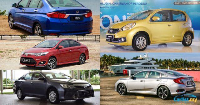 Selepas 5 Tahun Inilah Model Kereta Di Malaysia Yang Resale Value Tinggi