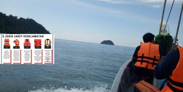 Wajib Kenal Jenis Jaket Keselamatan Sebelum Pakai, Bukan Semua Sesuai Untuk Aktiviti Laut