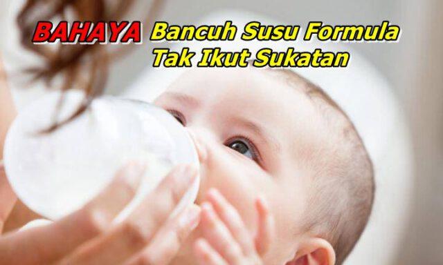 Inilah 5 Bahaya Bancuh Susu Formula Tak Ikut Sukatan