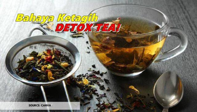 Jangan Tertipu, Senang Membuang Lepas Minum Detox Tea Tidak Bermakna Akan Hilang Lemak Berlebihan
