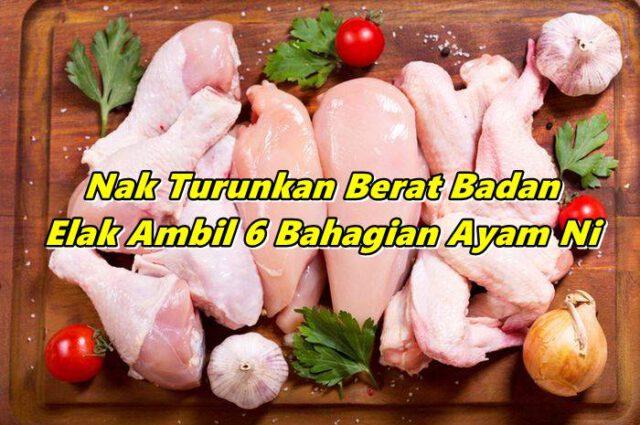 Nak Turunkan Berat Badan, Elak Ambil 6 Bahagian Ayam Ni