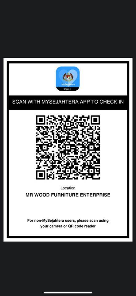 Ini Cara Untuk Pemilik Kedai Buat QR Code MySejahtera ...