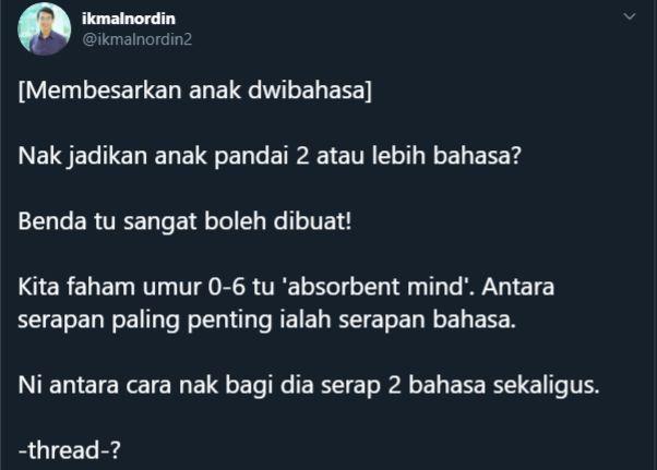 dua bahasa