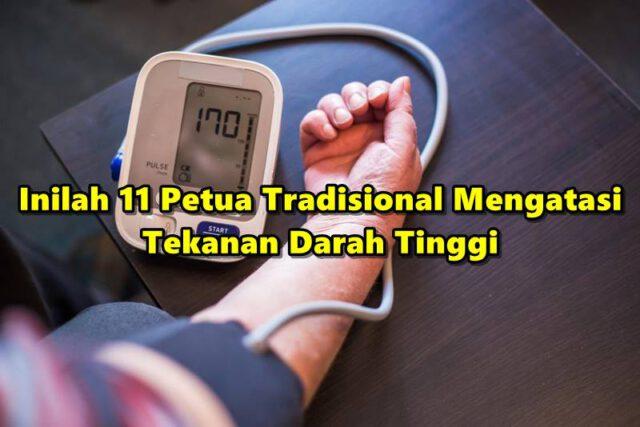 Inilah 11 Petua Tradisional Mengatasi Tekanan Darah Tinggi, Selain Kurangkan Bahan Perasa